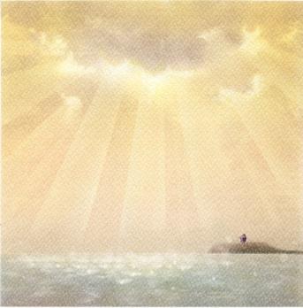 「江ノ島メモリ-」パステルアート